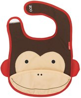 Skip Hop Zoo Tuck Away Bib, Marshall