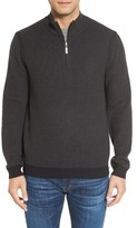 Tommy Bahama Men's Big & Tall Make Mine A Double Reversible Quarter Zip Sweater