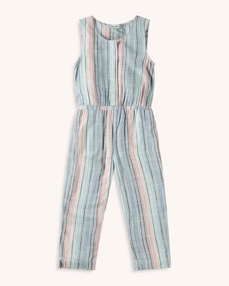 Splendid Little Girl Woven Stripe Jumpsuit