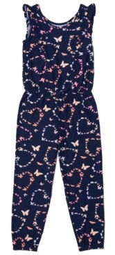 Epic Threads Little Girls All over Print Jumpsuit