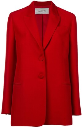Valentino Boxy-Fit Blazer