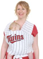 Bed Bath & Beyond Moby® MLBTM Edition Wrap Baby Carrier in Striped Minnesota Twins