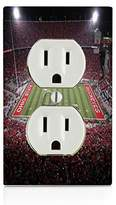 College Football Stadium Electrical Outlet Plate
