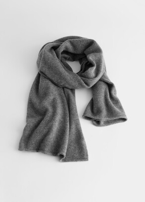 And other stories Cashmere Knitted Scarf