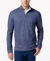Tommy Bahama Men's Quarter-Zip Houndstooth Shirt