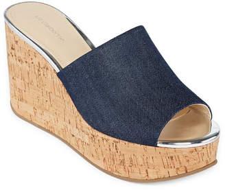 Liz Claiborne Womens Paloma Wedge Sandals