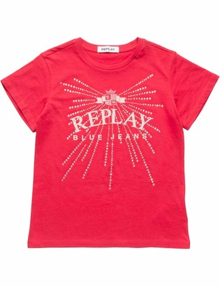 Replay Girl's Sg7479.051.20994 T-Shirt
