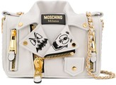 Moschino two-tone Biker shoulder bag