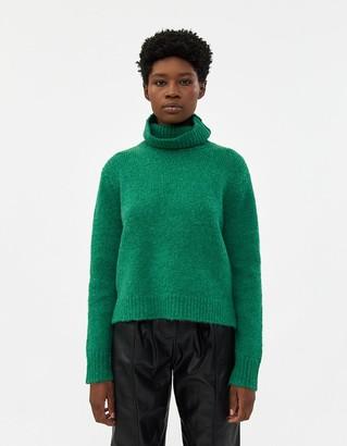 Hope Women's Nova Sweater in Green, Size 34 | Wool