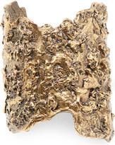 Alexander McQueen Molten brass cuff bracelet