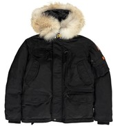 Parajumpers Faux Fur Right Hand Hooded Parka