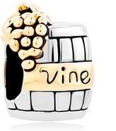 Charmed Craft Wine Cask Charm Sale Cheap New Jewelry Bead Fits Pandora Bracelet