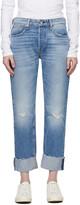 Thumbnail for your product : Rag & Bone Blue Nina Mid-Rise Boyfriend Jeans
