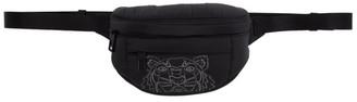 Kenzo Black Nylon Mini Bum Bag