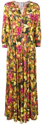 Ultràchic fruit printed maxi dress