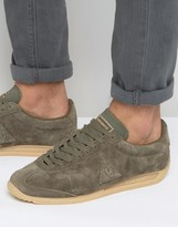 Le Coq Sportif Quartz Sneakers In Khaki Exclusive To ASOS