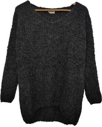American Vintage Anthracite Cashmere Knitwear for Women