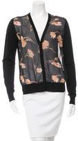 Dolce & Gabbana Printed Panel Cardigan