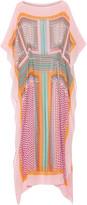Diane von Furstenberg Monte Carlo printed silk-chiffon kaftan