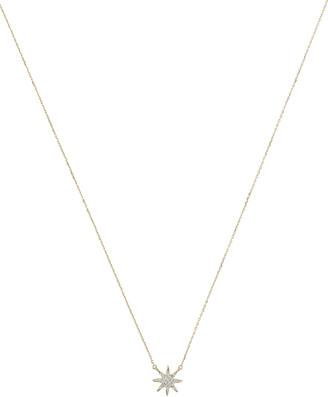 Adina Tiny Starburst Pendant Necklace