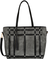 Mellow World Black Shirley Tote