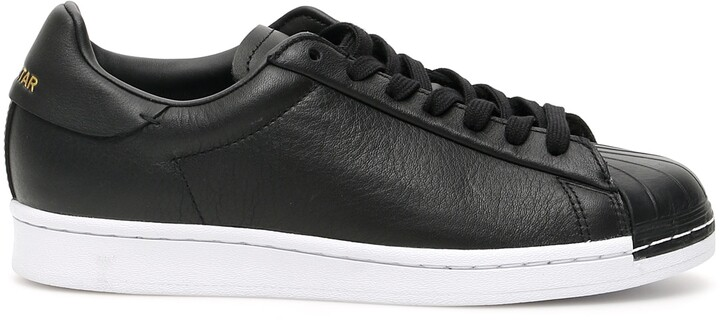adidas SUPERSTAR PURE LT SNEAKERS 5 Black Leather