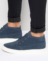 Pointer Randall Mid Plimsoll In Suede