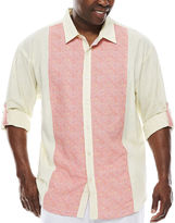 Steve Harvey Long-Sleeve Shirt - Big & Tall