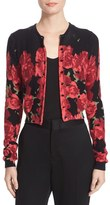 Tracy Reese Women's Print Cardigan