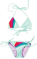 Girl's Bowie James 'Sunray' Two-Piece Triangle Swimsuit