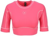Thumbnail for your product : adidas by Stella McCartney TrueStrength Yoga Crop Top