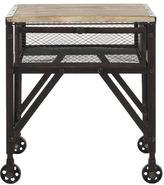 Decker Rolling End Table