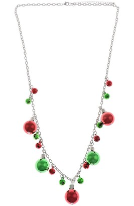 Holiday Bell & Ornament Necklace