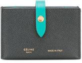 Celine strap fastening wallet
