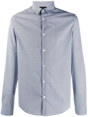 Emporio Armani Geometric-Print Shirt