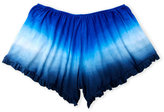 Erge Girls 7-16) Tie-Dye Flirty Shorts