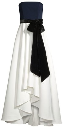Jay Godfrey Ian Strapless Gown