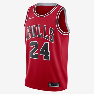 Nike Men's NBA Swingman Jersey Lauri Markkanen Bulls Icon Edition