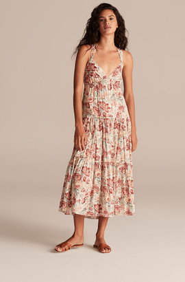 Rebecca Taylor La Vie Lucienne Floral Tank Dress