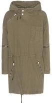 Saint Laurent Cotton Parka Coat