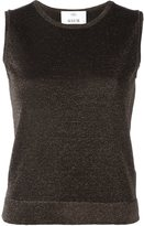 Allude knit tank top