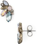 Sorrelli Rainbow Stone Stud Earrings