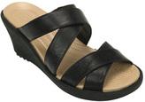 Crocs Women's A-leigh Crisscross Wedge Sandal