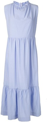Olympiah Laurier ruched maxi dress