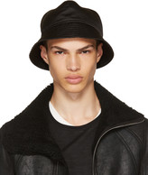 Rick Owens Black Gilligan Bucket Hat