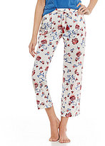 Lucky Brand Floral-Print Lawn Sleep Pants