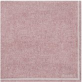 Reiss Reiss Craven - Silk Pocket Square In Pink, Mens