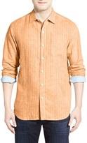 Tommy Bahama 'Boardwalk Breezer' Linen Blend Sport Shirt (Big & Tall)