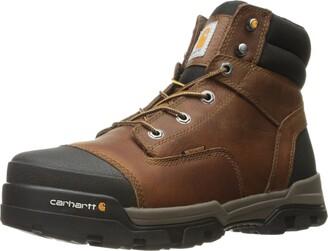 Carhartt Men's Ground Force 6-Inch Brown Waterproof Work Boot - Soft Toe