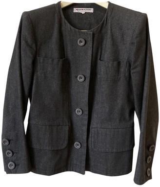 Saint Laurent Navy Denim - Jeans Jackets
